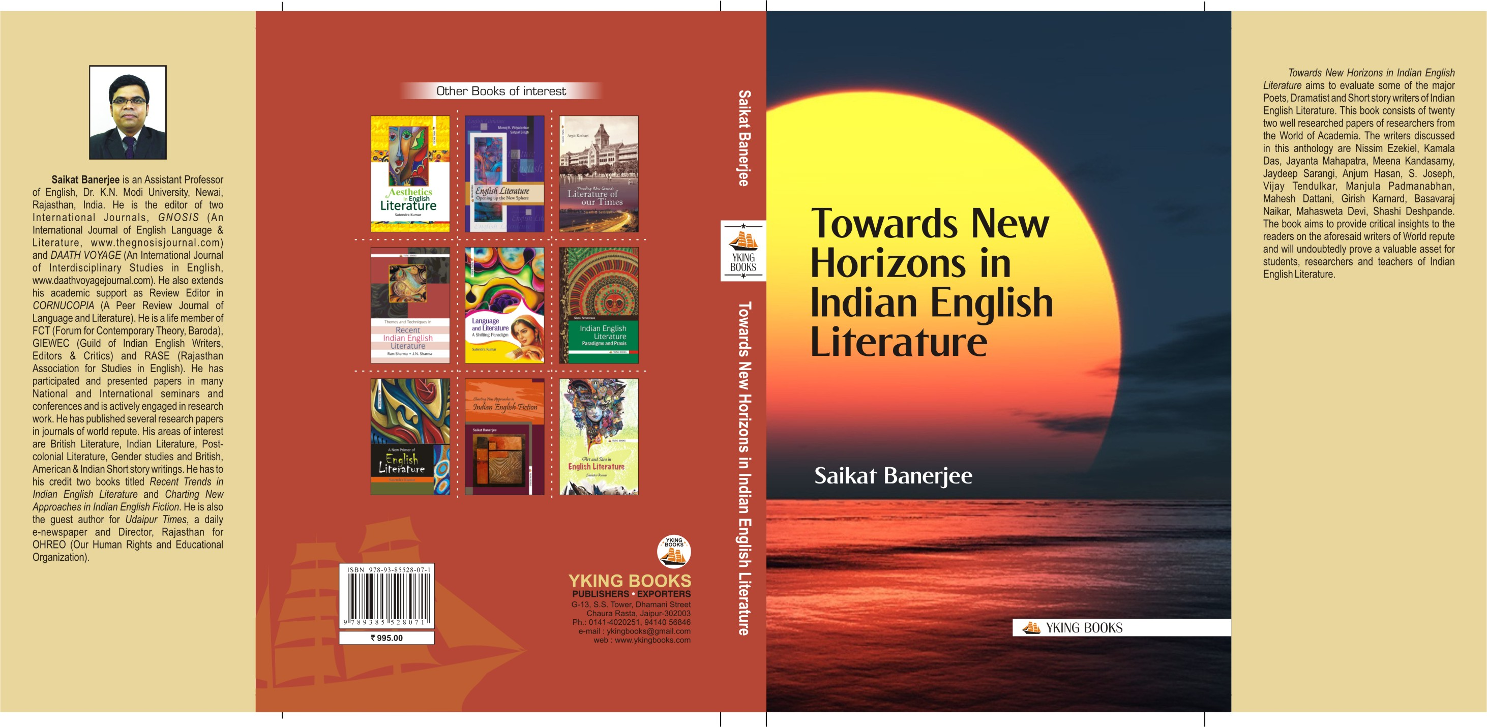 Towards New Horizons in Indian English Literature